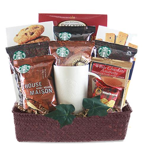 Med Coffee Gift Basket BP1018