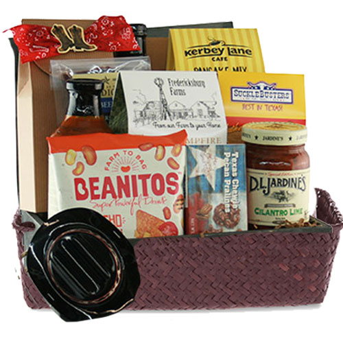 Med Texas Gift Basket BP1018