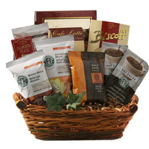 Sm Coffee Gift Basket BP1018