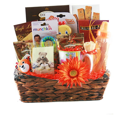 Med Baby Gift Basket BP1020
