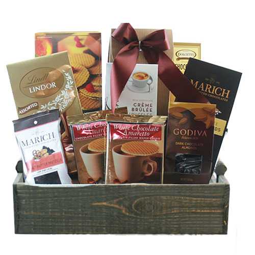 Med Chocolate Gift Basket BP1020