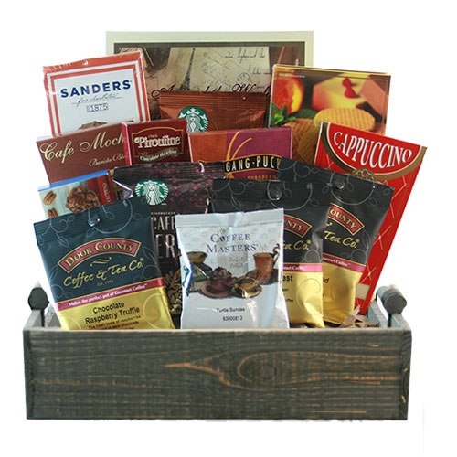Med Coffee Gift Basket BP1020
