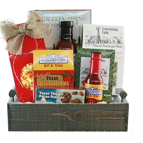 Med Texas Gift Basket BP1020