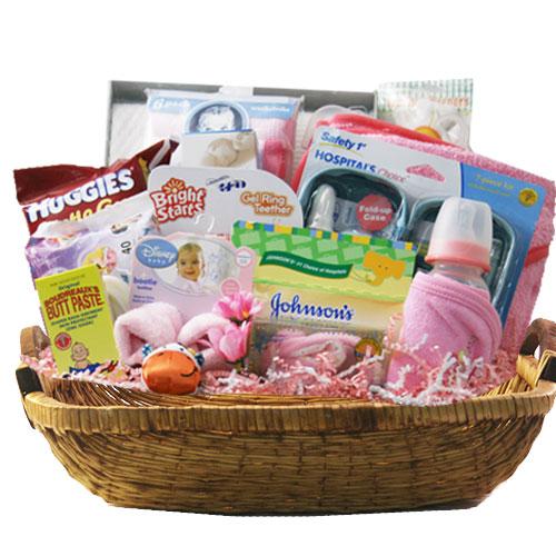 Lg Baby Gift Basket BP1021