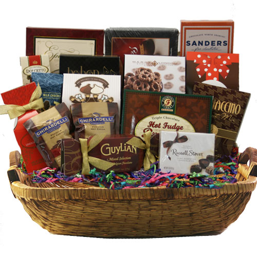 Lg Chocolate Gift Basket BP1021