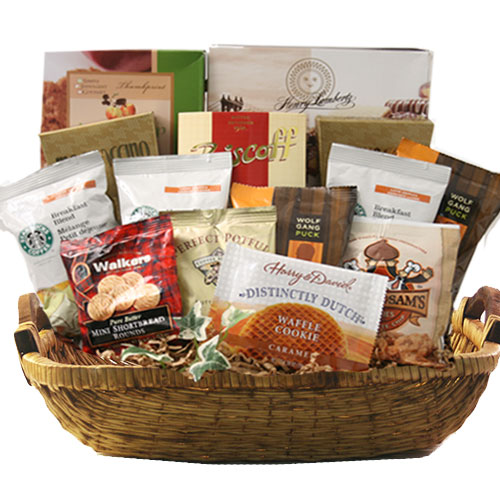 Lg Coffee Gift Basket BP1021