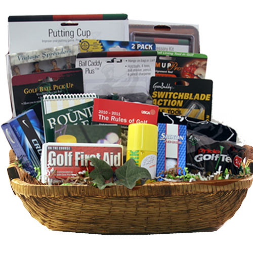 Lg Golf Gift Basket BP1021