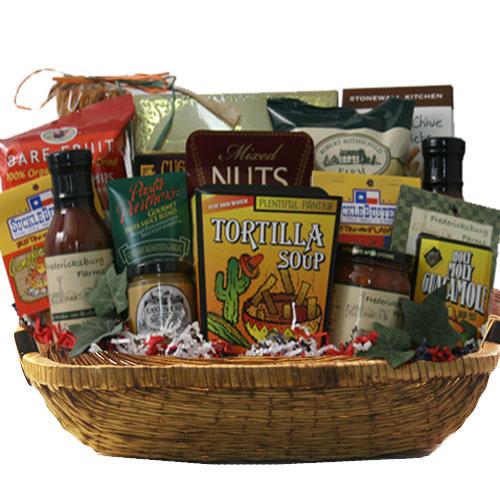 Lg Texas Gift Basket BP1021