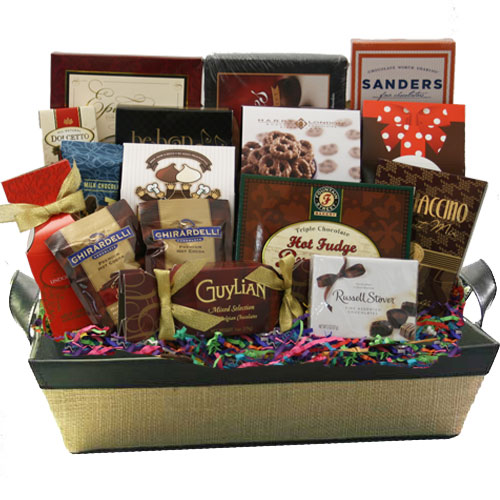 Lg Chocolate Gift Basket BP1022