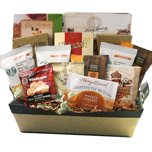 Lg Coffee Gift Basket BP1022