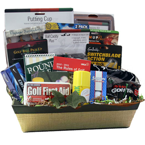 Lg Golf Gift Basket BP1022