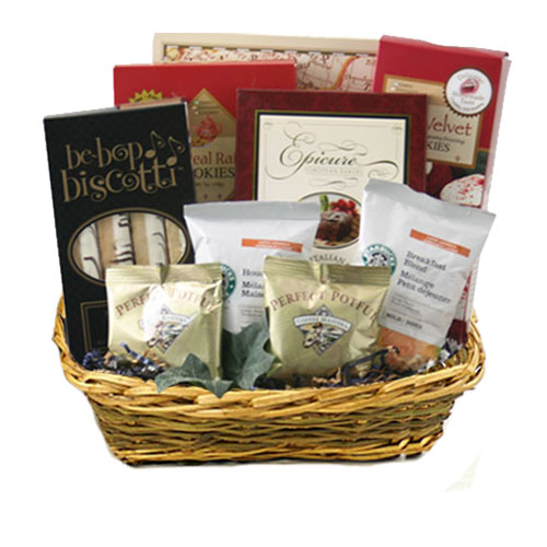 Med Coffee Gift Basket BP1024