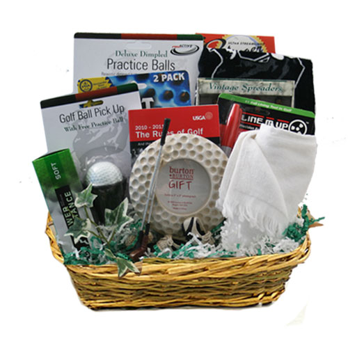 Med Golf Gift Basket BP1024