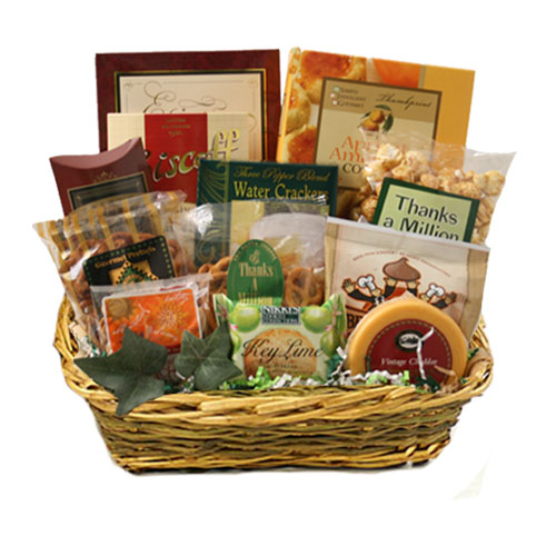 Med Gourmet Gift Basket BP1024