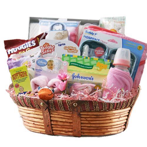 Lg Baby Gift Basket BP1026