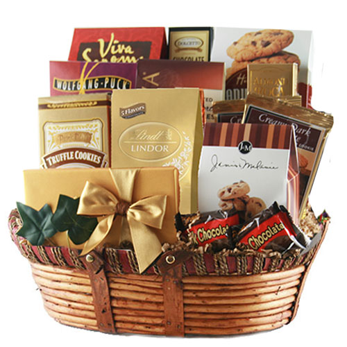 Lg Chocolate Gift Basket BP1026