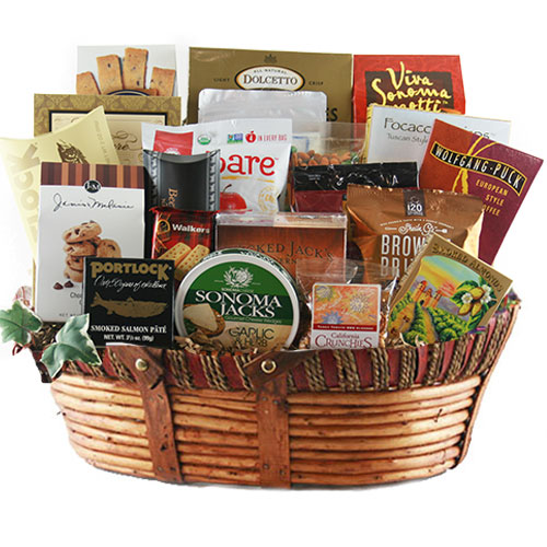 Lg Gourmet Gift Basket BP1026