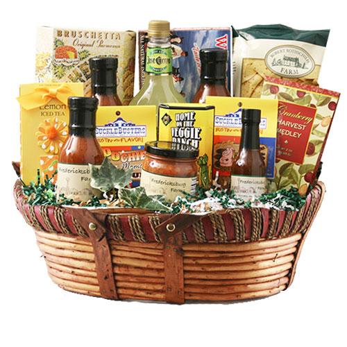 Lg Texas Gift Basket BP1026