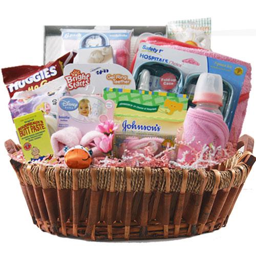Lg Baby Gift Basket BP1028