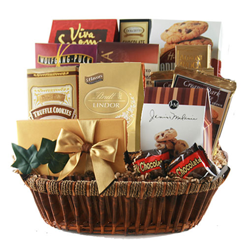 Lg Chocolate Gift Basket BP1028