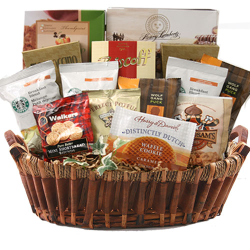 Lg Coffee Gift Basket BP1028