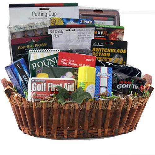 Lg Golf Gift Basket BP1028