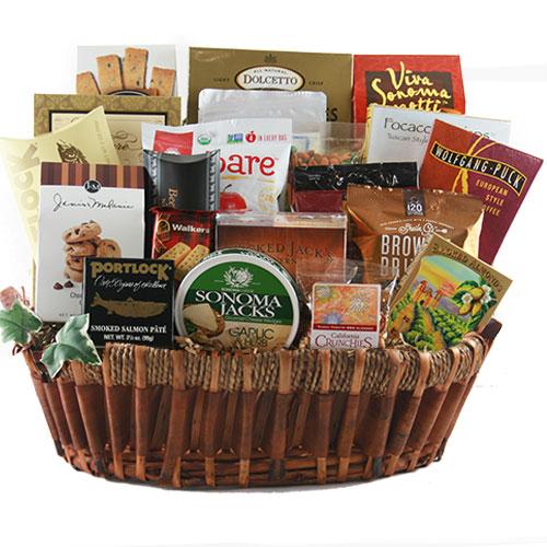 Lg Gourmet Gift Basket BP1028