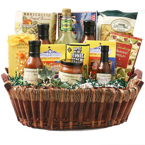 Lg Texas Gift Basket BP1028