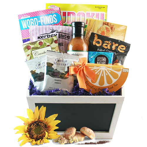 Breakfast in Bed Med Gourmet Gift Basket