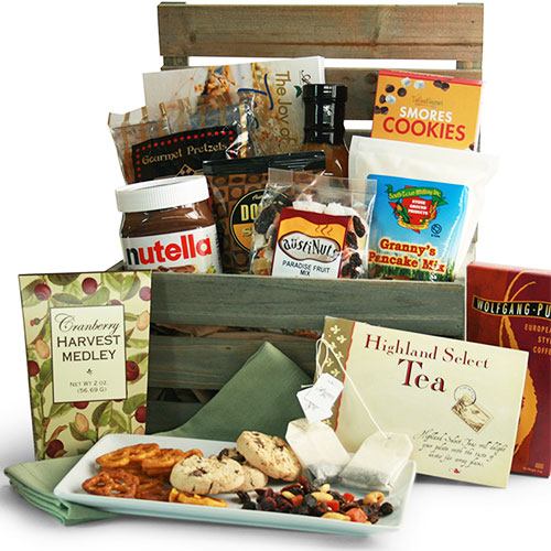 Holiday Breakfast Gift Baskets