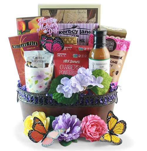 Breakfast for Mom Mothers Day Gift Basket