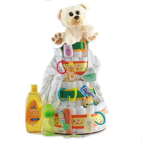 Bundle of Joy Diaper Cake