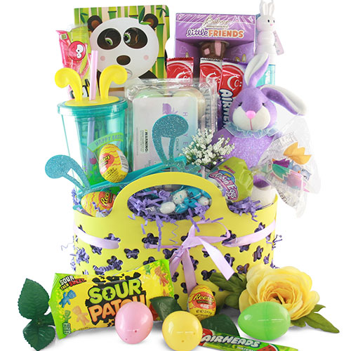 Easter gift baskets bunny hop easter gift basket diygb bunny hop easter gift basket negle Image collections