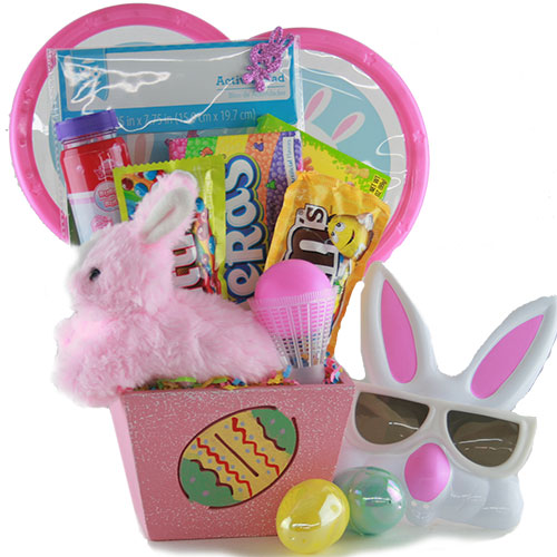 Bunny Trail Easter Gift Basket