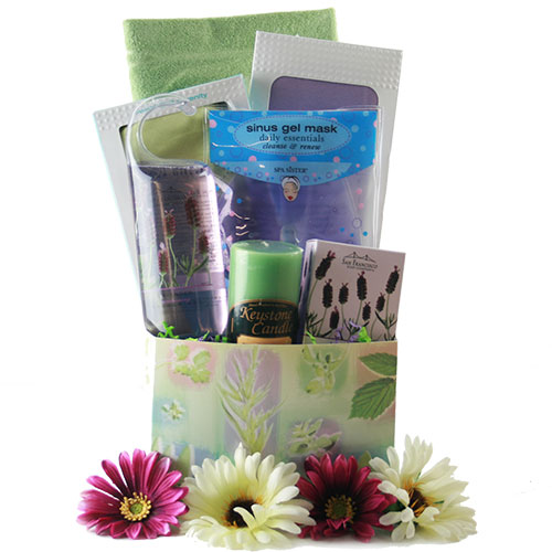 Butterfly Kisses Pamper Gift Basket