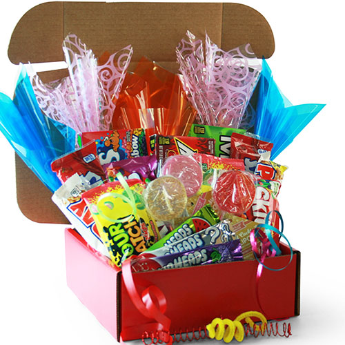 Candy Caravan Candy Gift Basket