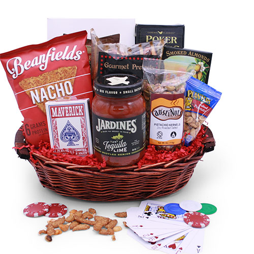 Poker Gift Baskets: Night Poker Gift Basket | DIYGB on planter wreaths, woven planter baskets, planter bags, planter plants, wall planter baskets, wire baskets,