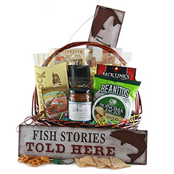 Catch and Release Fishing Gift Basket