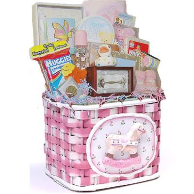 Lg Baby Gift Basket CC1001