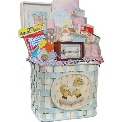 Lg Baby Gift Basket CC1002