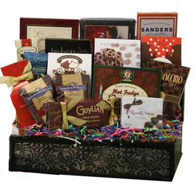 Lg Chocolate Gift Basket CC1006