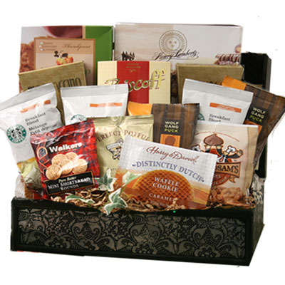 Lg Coffee Gift Basket CC1006
