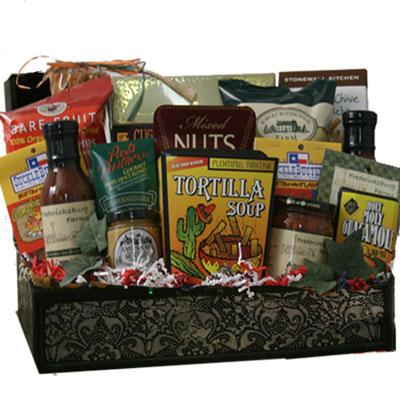 Lg Texas Gift Basket CC1006