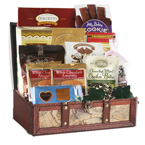 Med Chocolate Gift Basket CC1007