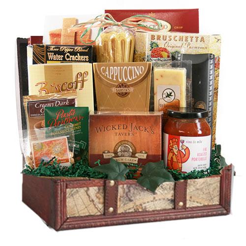 Med Italian Gift Basket CC1007