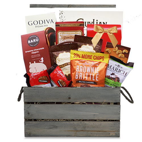 Med Chocolate Gift Basket CC1014