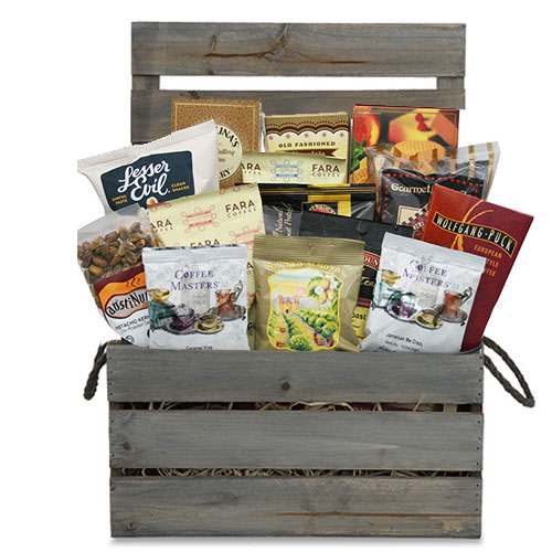 Med Coffee Gift Basket CC1014