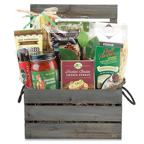 Med Italian Gift Basket CC1014
