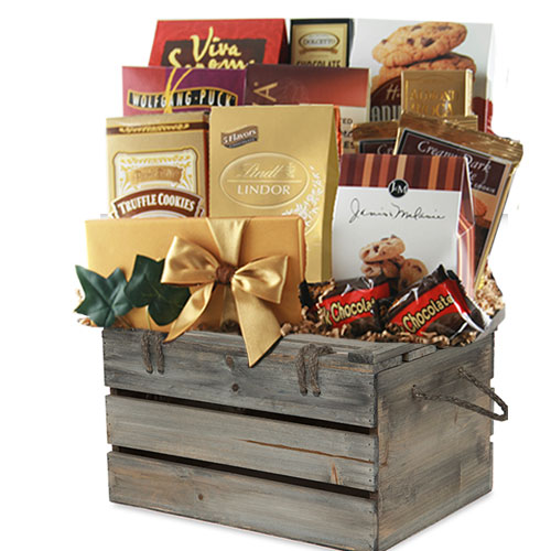 Lg Chocolate Gift Basket CC3014