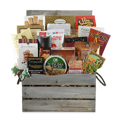 Lg Gourmet Gift Basket CC3014
